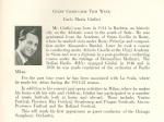November 3 & 4, 1955, program bio