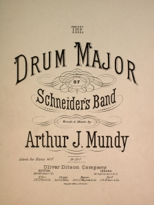 The Drum Major of Schneider's Band