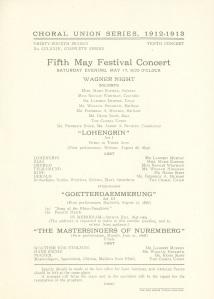 Fifth concert