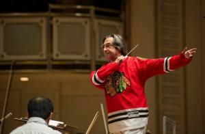 CSO Music Director Riccardo Muti leads the Orchestra in Chelsea Dagger, June 19, 2013
