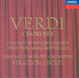 Verdi Choruses album cover