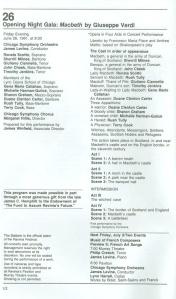 Ravinia Festival, June 26, 1981