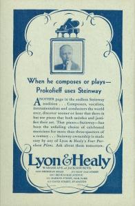 Steinway advertisement