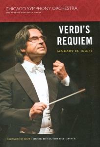 Orchestra Hall, January 2009 - Riccardo Muti conducting