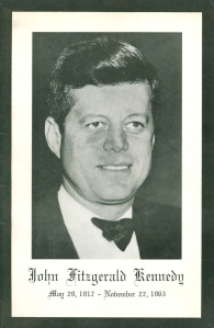 Revised program book cover for the November 28 and 29, 1963, subscription concerts