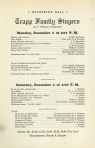 Programs for the two December 1945 concerts at Orchestra Hall