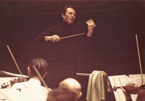 Giulini rehearsal action ca 1970