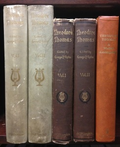 From left to right: the 1905 two-volume limited edition, the 1905 two-volume standard edition, and the 1964 reprint