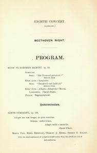 December 16 & 17, 1892, program page