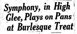 Chicago Herald-Examiner headline from April 10, 1934
