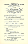 Program page for the April 9, 1934, concert