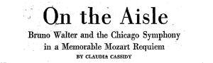 Walter Mozart Requiem