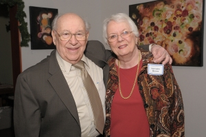 Sam and Lorraine Denov at the CSO Alumni Association reunion in November 2012 (Dan Rest photo)