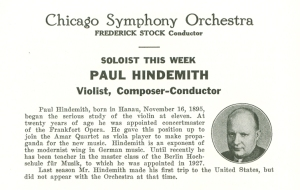 Hindemith's March 1938 program biography