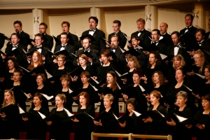 The Chicago Symphony Chorus performing in Ravel's Daphnis and Chloe (conducted by Bernard Haitink) on November 8, 2007
