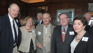 Edgar and Nancy Muenzer, Israelievitch, and Samuel and Miriam Magad at the June 3, 2011, CSO Alumni Association reunion (Dan Rest photo)