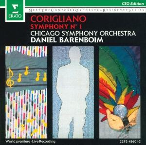 Corigliano album cover