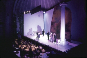 Dress rehearsal for The Marriage of Figaro, February 1992 (George Mott photo)