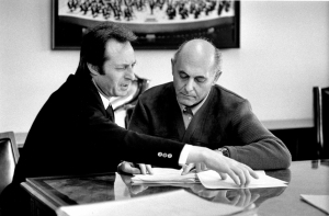 Carlo Maria Giulini and Georg Solti