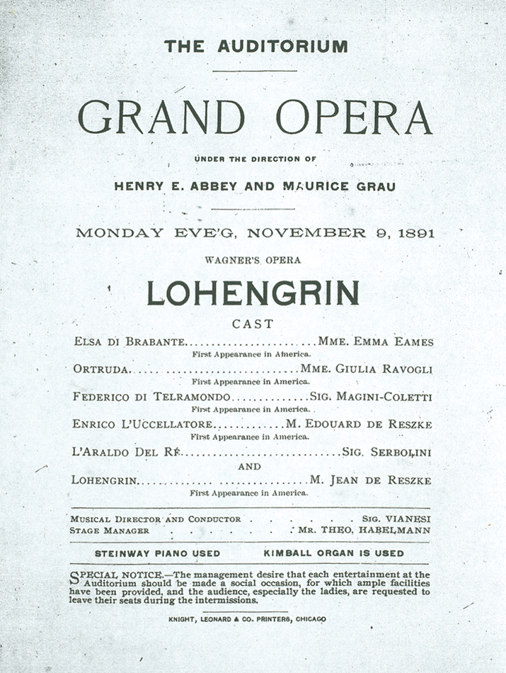 Metropolitan Opera | from the archives