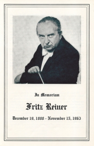 Program book for November 28 and 29, 1963, most likely printed before November 22