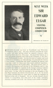 Sir Edward Elgar bio
