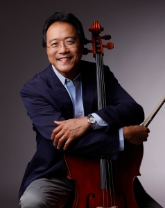 Judson and Joyce Green Creative Consultant Yo-Yo Ma (Todd Rosenberg photo)