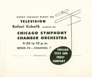 First television concerts copy