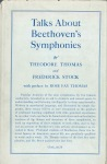 Original dust jacket for the first edition of Talks About Beethoven's Symphonies