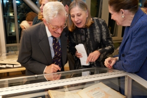 Barbara Haws, archivist for the New York Philharmonic, talks about the case dedicated to Leonard Bernstein