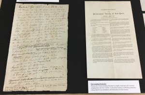 Founding documents for the Vienna and New York orchestras